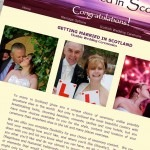 Getting married in Scotland website and SEO