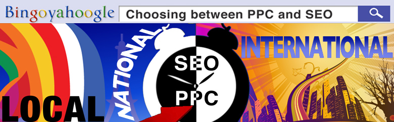 Local, national and international PPC and SEO campaigns