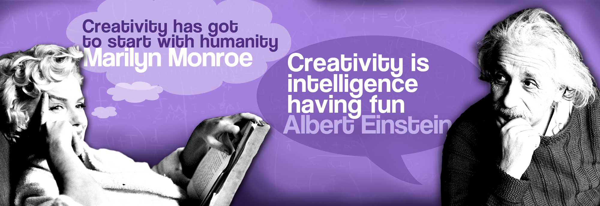 Creativity in Education - Albert Einstein and Marilyn Monroe