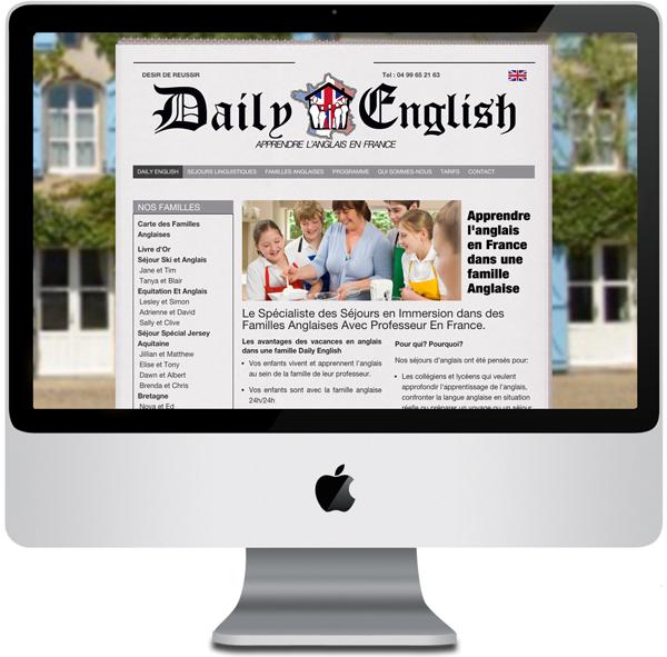 Daily English - Monitor