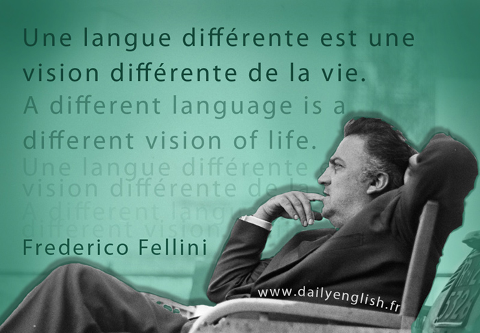 Une langue Different Quotagraphic
