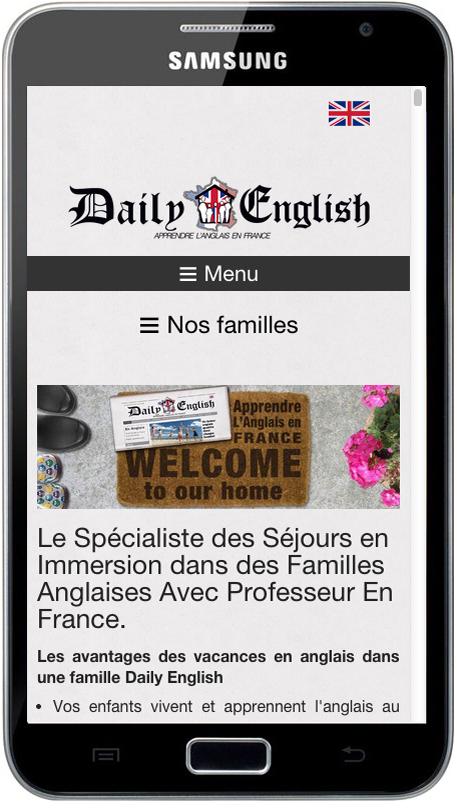 Le responsive web design pour les mobiles