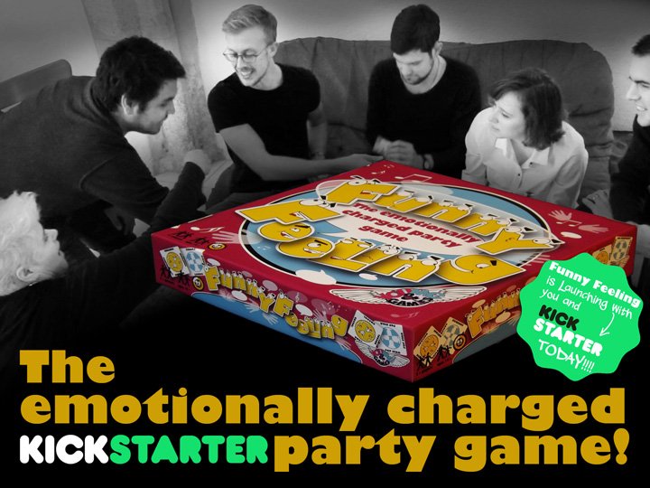 The emotionally charged party game - on Kickstarter