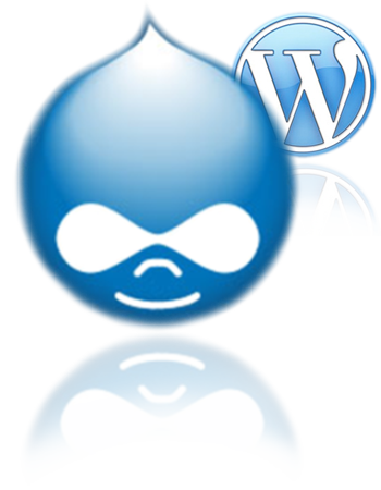 Drupal and Wordpress