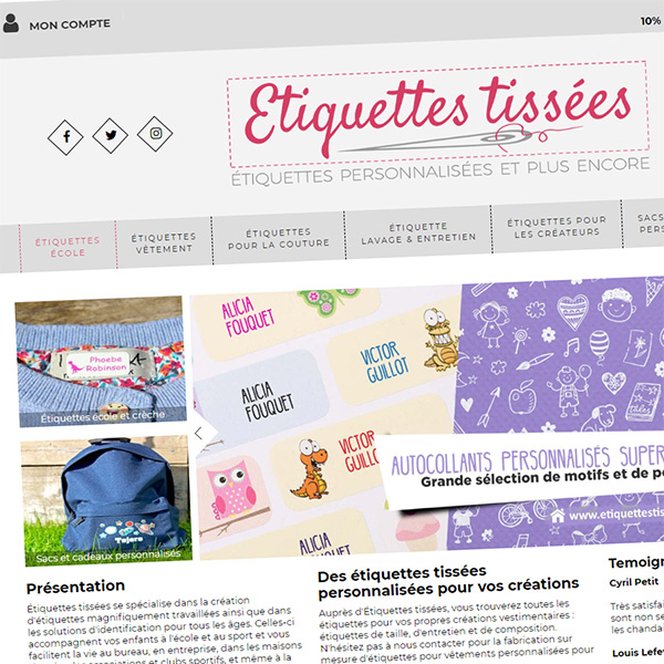 Ecommerce site in France