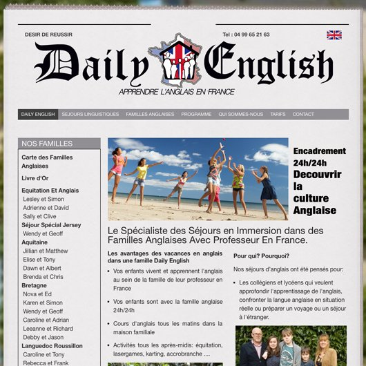 French SEO for Daily English