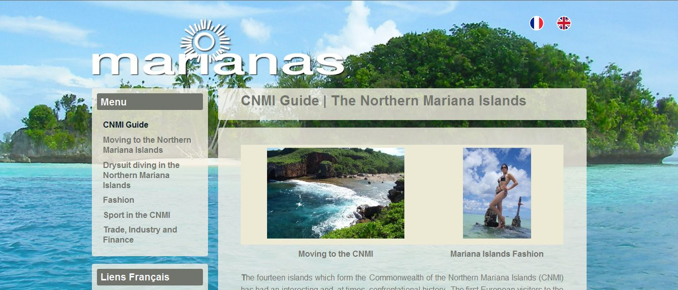 Professional website - CNMI Guide