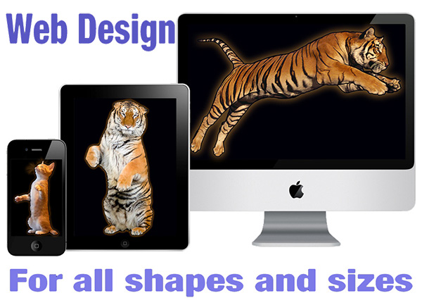 Web design for all shapes and sizes