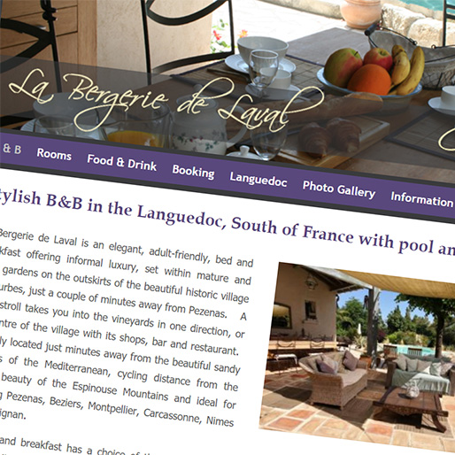South France web design