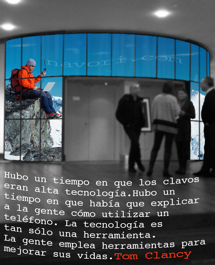 Quotagraphic in Spanish Tom Clancy
