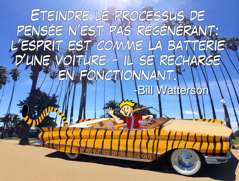 Bill Watterson social media graphic design