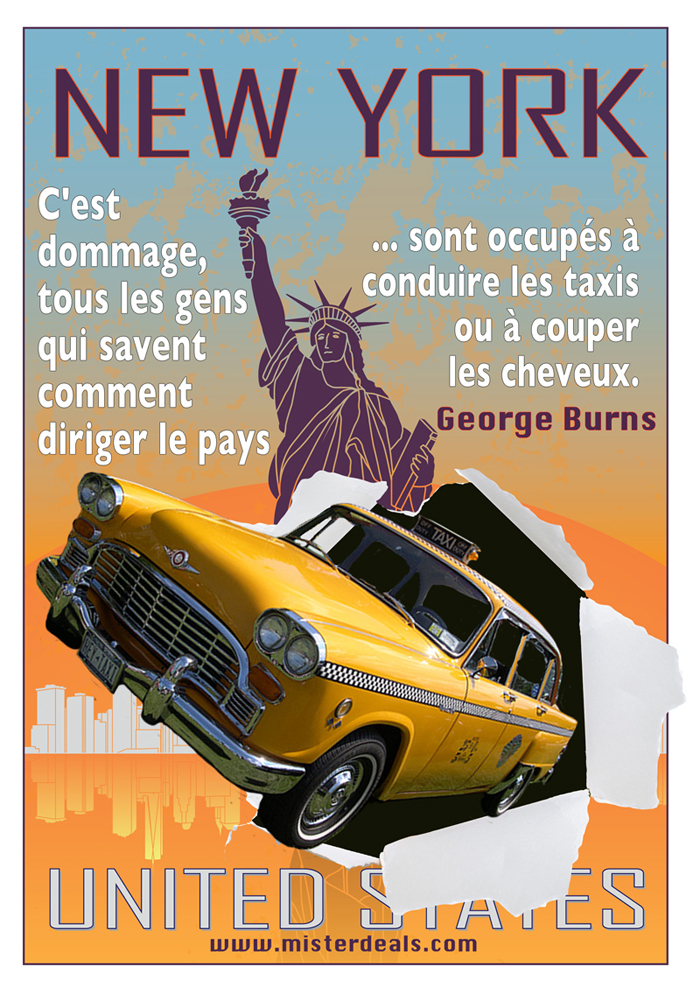 New York quota graphic French social media