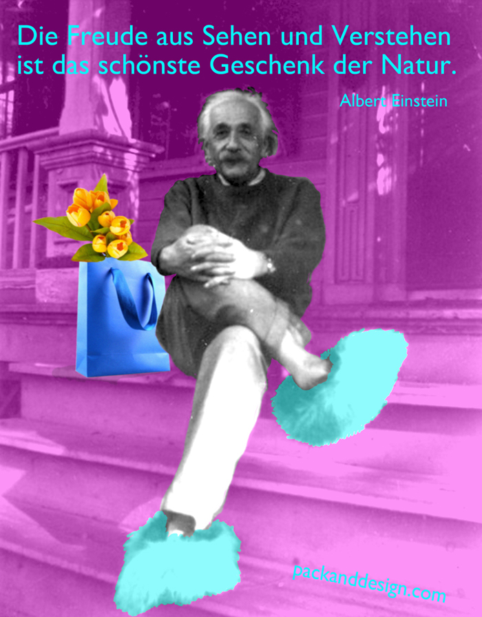 Albert Einstein image for social media