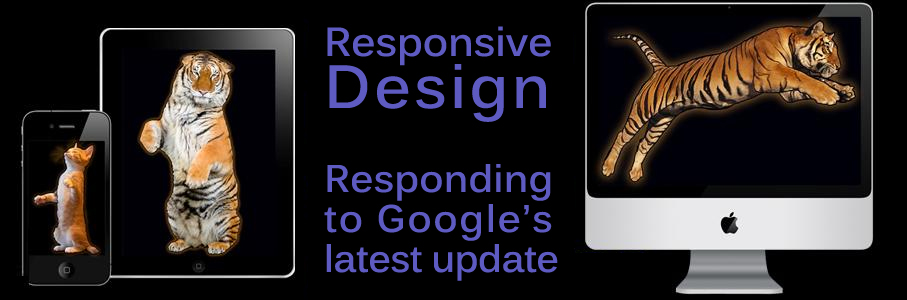 Responsive design Google's algorithm update