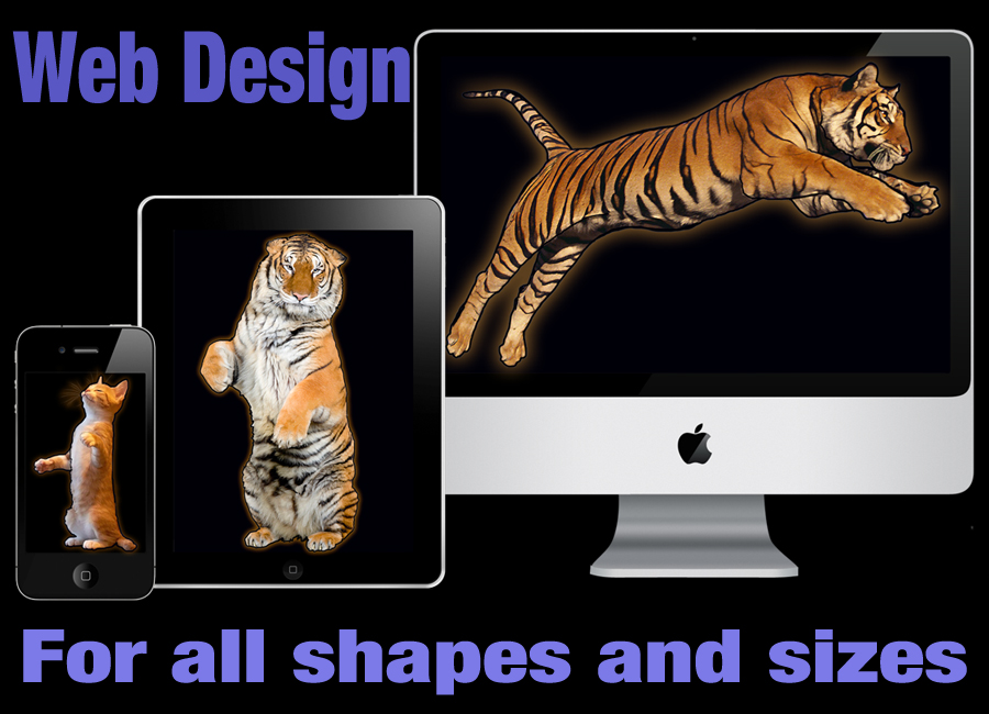 Responsive website design for all shapes and sizes