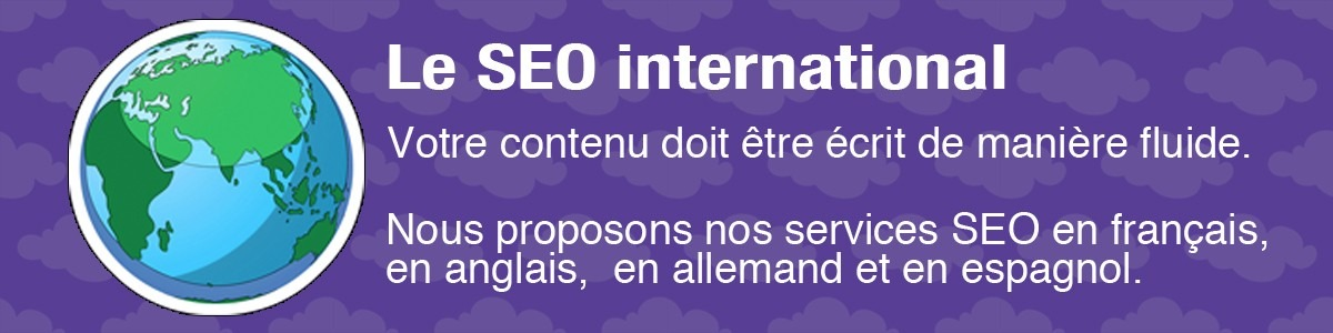SEO international et Multilingue
