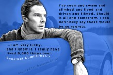 Social Media Graphic design Benedict Cumberbatch