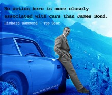 James Bond Quotagraphic