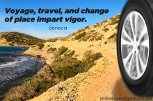 Social Media Image Seneca quote travel