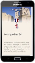 Mobile site Montpellier France