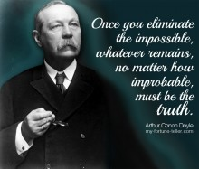Quotagraphic Arthur Conan Doyle Quote and Image