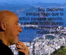 Inspirational social media image Paulo Coelho