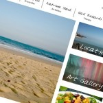 Art and travel website design UK