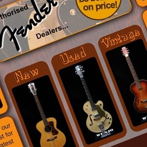 London guitar shop website testimonial