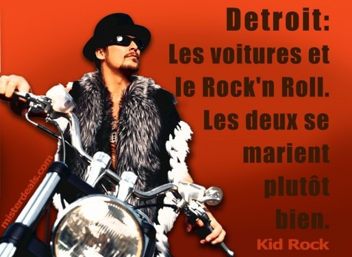 Kid Rock graphic design