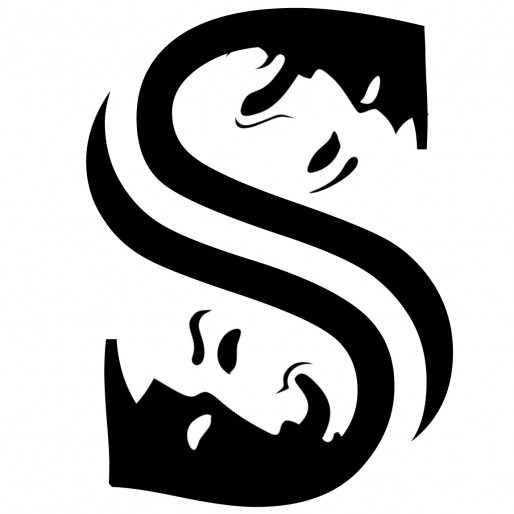 Logo for Saskian Woods, a French actor