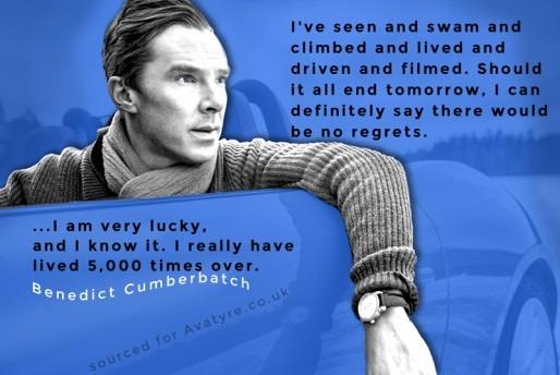 Social Media Graphic design Benedict Cumberbatch
