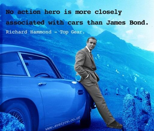 James Bond Quotagraphic