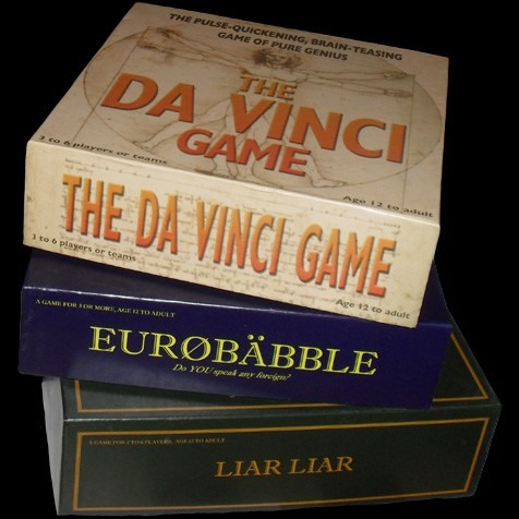 Original board game graphic design