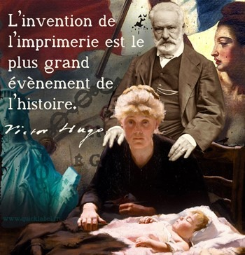 Traduction de la citation en anglais de Victor Hugo