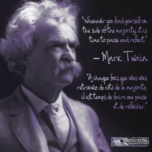 Mark Twain quotagraphique
