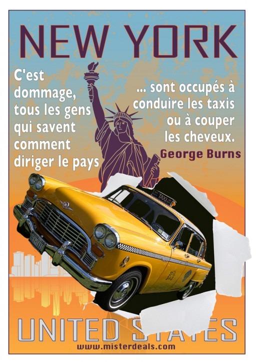 New York quota graphic French social media