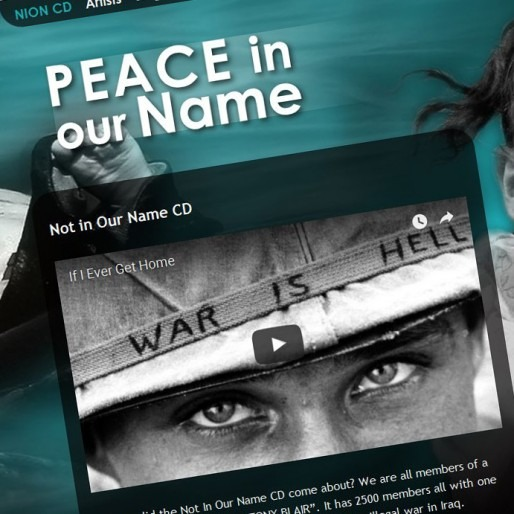 Peace in our name music website