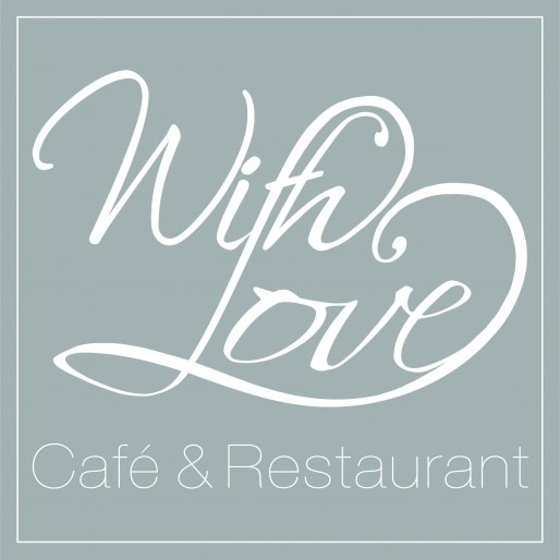 With love - Restaurant logo design in London