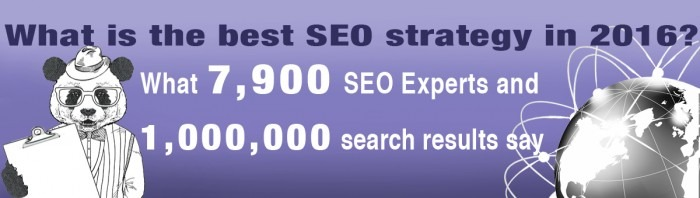 Best SEO strategy in 2016